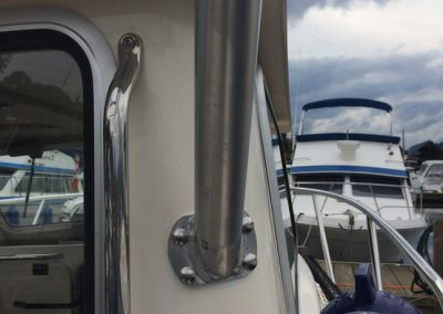 Aluminum Boat Railings-7