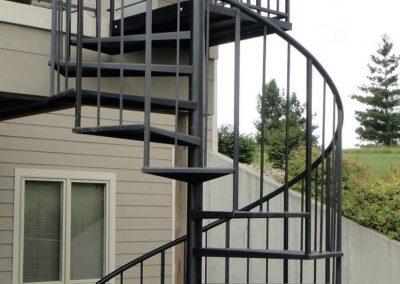 spiral staircase vancouver